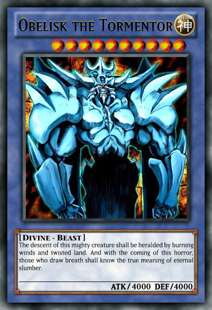 The Most Powerful Cards Yu Gi Oh Tcg